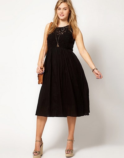 Những loại váy đẹp cho người body quá cỡ