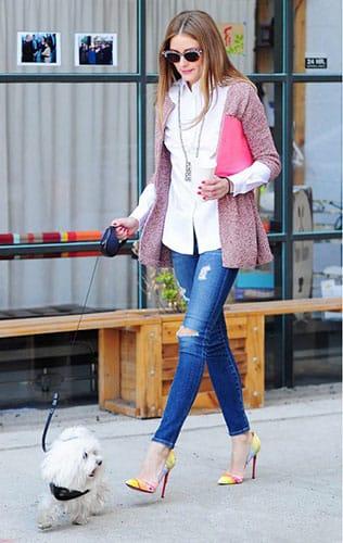 Bí quyết mặc quần jeans đơn giản mà sang chảnh như sao