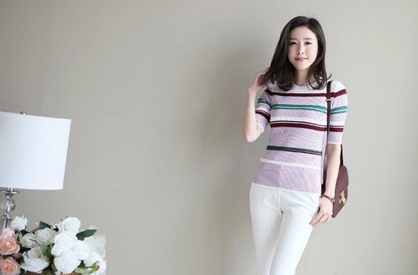 Áo len mỏng cho thời trang giao mùa