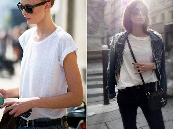 Bí quyết mặc đẹp và thời thượng cùng áo phông trắng