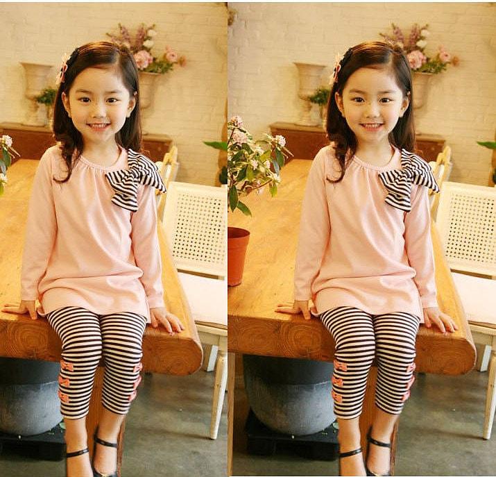Bí kíp lựa chọn trang phục cho bé gái thân hình gầy