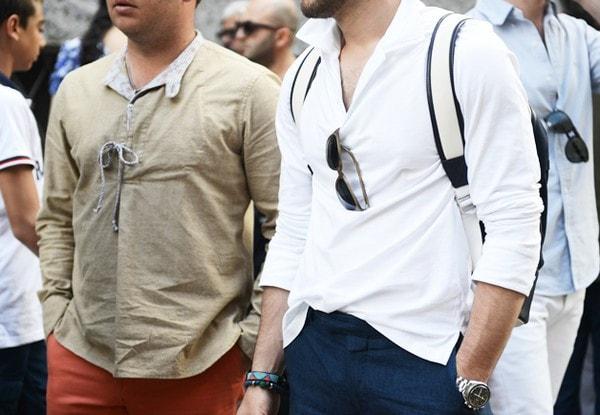 """Bí quyết """"hô biến"""" chiếc áo sơ mi dành cho nam giới"""