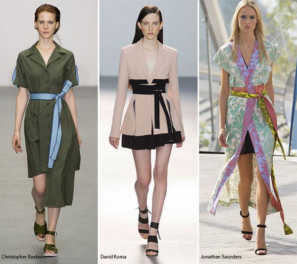 Update xu hướng thời trang Xuân hè năm 2016 cho phái đẹp