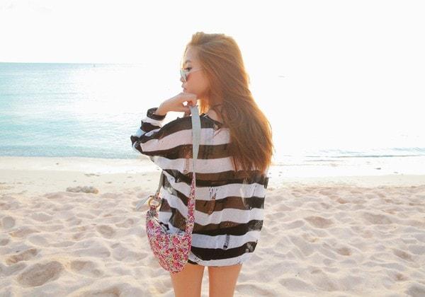 Quyến rũ với 4 kiểu váy áo đi biển đẹp nhất hè 2016