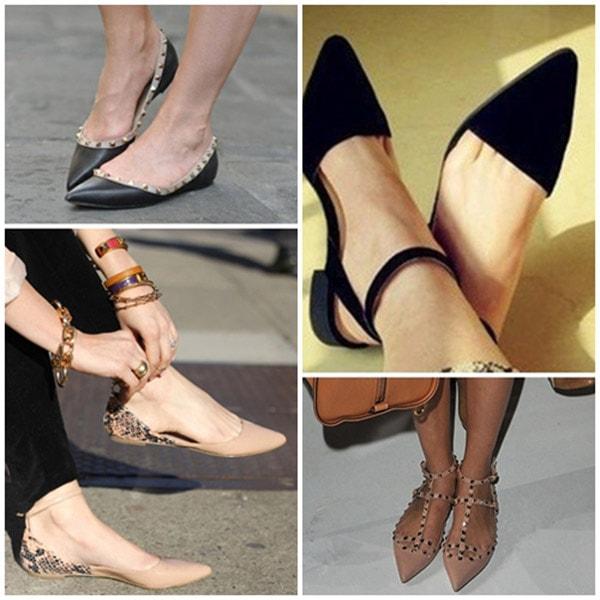 """Làm """"dài"""" chân với 4 bí quyết phối đồ cùng giày bệt"""