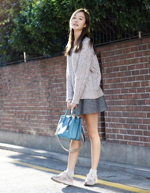 Bí quyết hay để mặc đẹp không tốn tiền khi thu về
