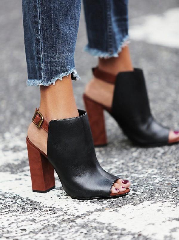Giày/sandals đế thô