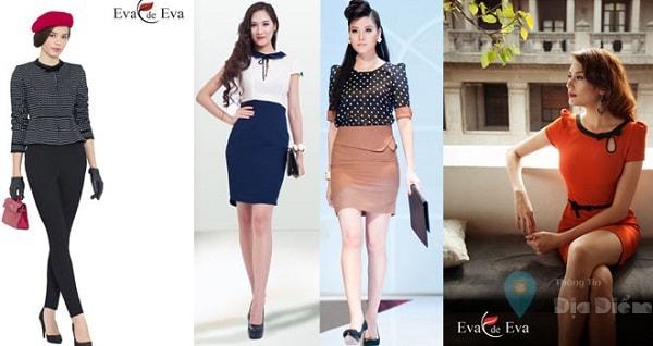 Eva de Eva là nhãn hàng thời trang công sở có nhiều dòng sản phẩm cho cả nam và nữ