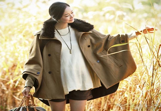 Lựa chọn áo khoác dạ, áo khoác phao là lựa chọn tuyệt vời cho các bà bầu