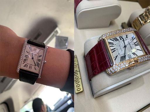 Đồng hồ cao cấp của Trấn Thành