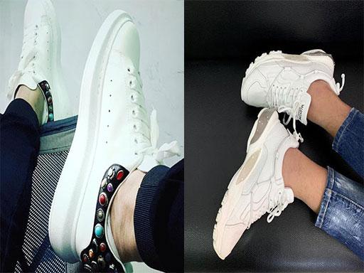Trấn Thành với gu giày thể thao tông trắng hiện đại
