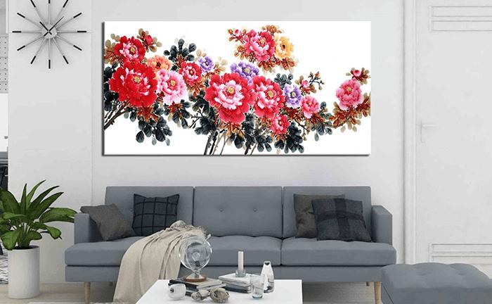 Chất liệu in tranh - Vải canvas
