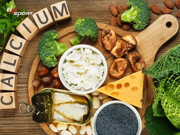 Các thực phẩm chứa nhiều canxi